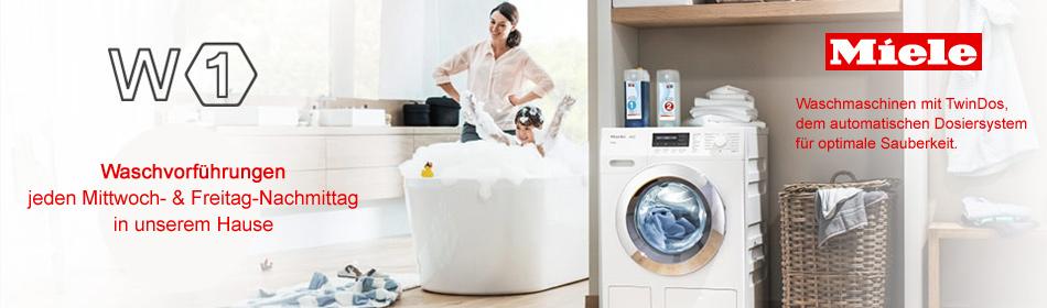 miele waschmaschinen w1 mit twindos haushaltsger te. Black Bedroom Furniture Sets. Home Design Ideas
